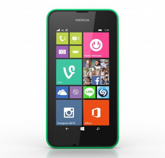 Microsoft Lumia 530 front