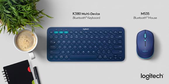 Logitech k380 M535